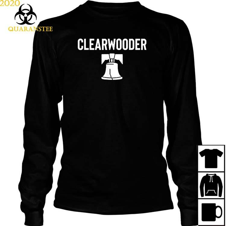 Philadelphia Phillies Awesome Baseball Gift Clearwooder Clearwater Shirt Long Sleeved