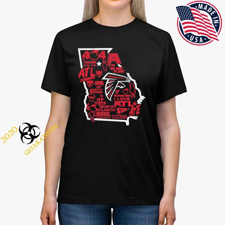 Falcons 404 Day Shirt Ladies Tee
