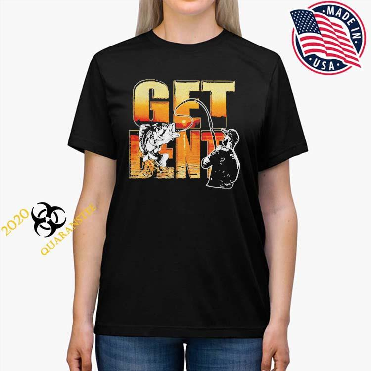 Get Bent Fishing Shirt Ladies Tee