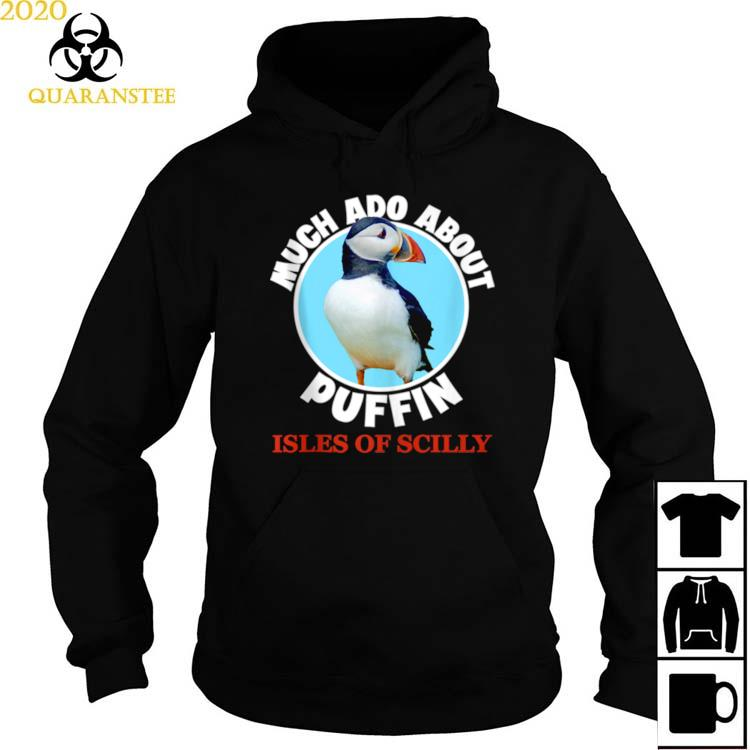 Isles Of Scilly Souvenir Puffin Bird Shirt Hoodie