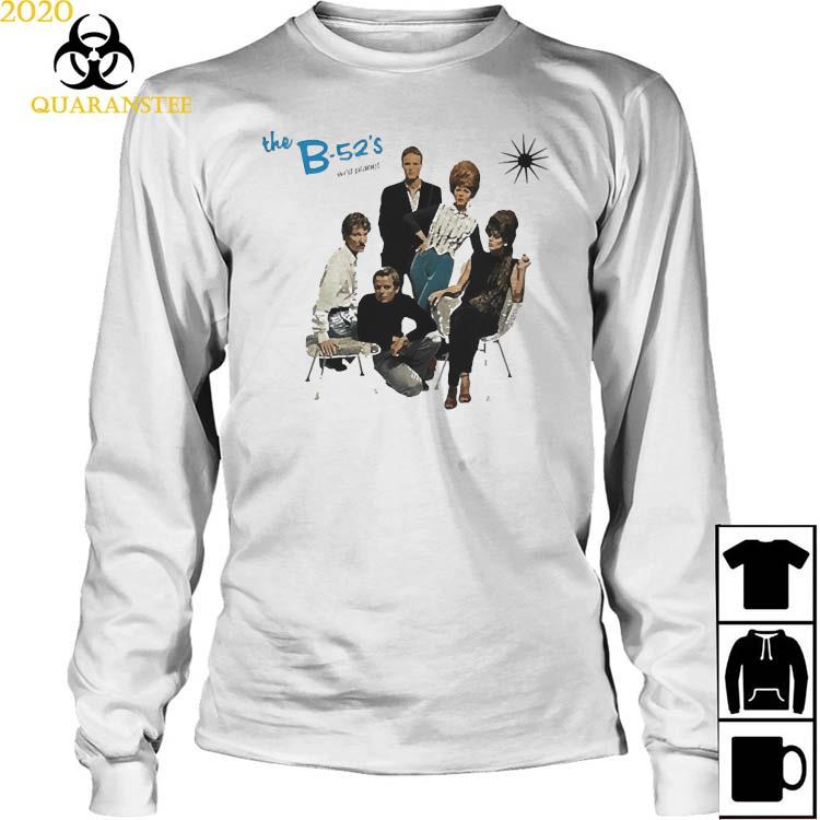 The B-52s Wild Planet Shirt Long Sleeved
