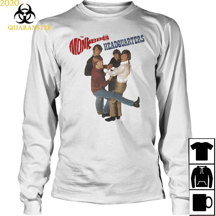 The Monkees Headquarters Shirt Long Sleeved
