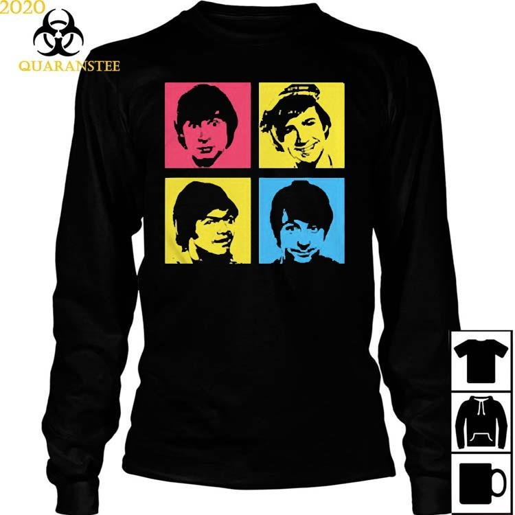 The Monkees Instant Replay Retro Shirt Long Sleeved