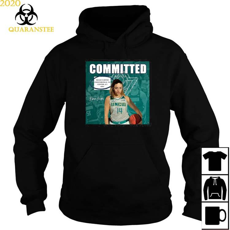 Uncw Committed Signature Shirt Hoodie