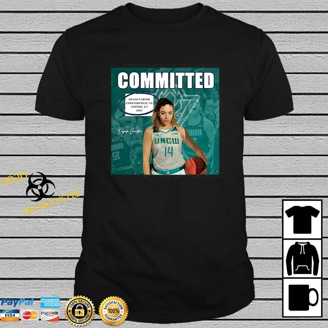 Uncw Committed Signature Shirt