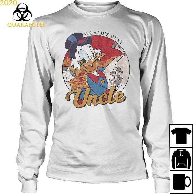 Worlds Best Uncle Shirt Long Sleeved