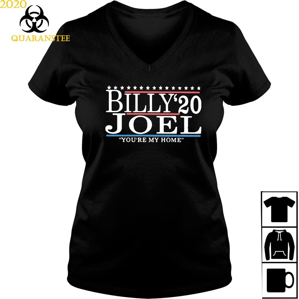 Billy Joel 2020 You're My Home Shirt Ladies V-neck