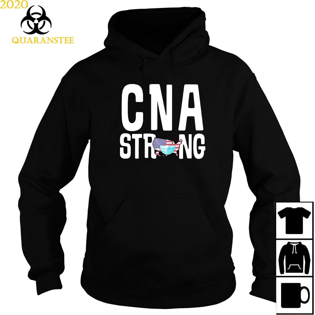 CNA Strong American Map Mask Covid-19 Shirt Hoodie