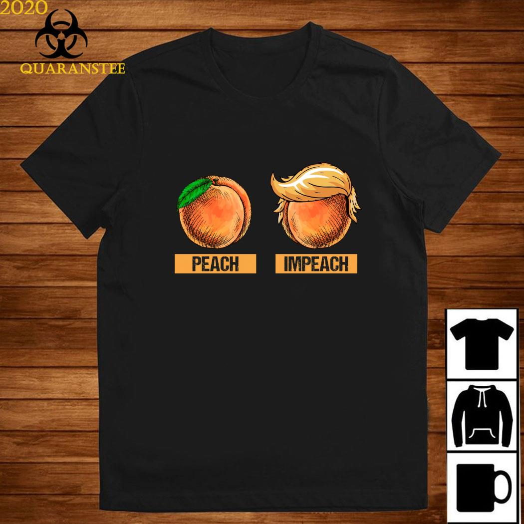 Peach Impeach Trump Shirt