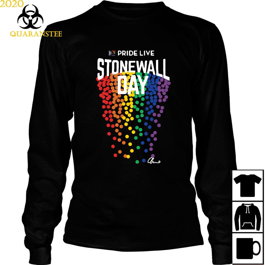 Pride Live Stonewall Day Shirt Long Sleeved