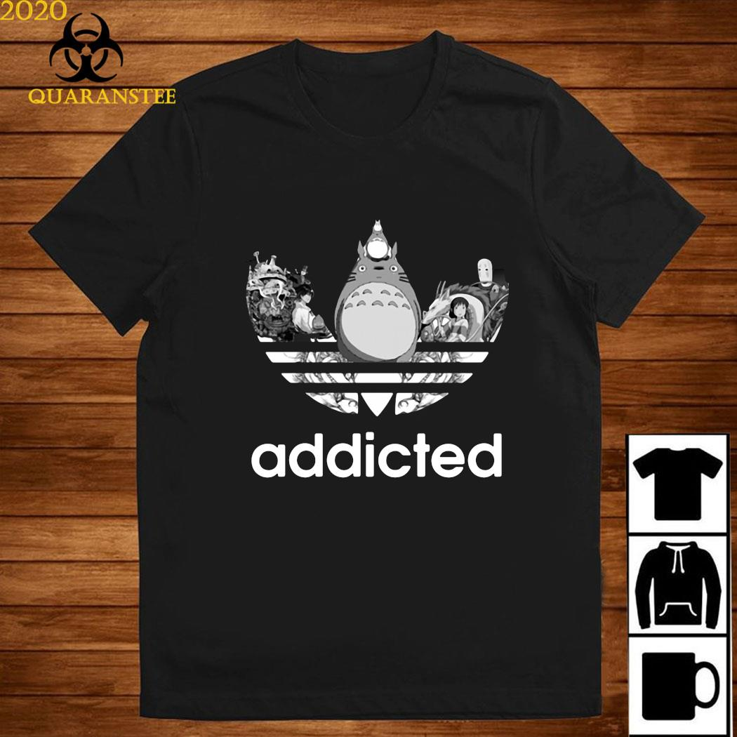 Totoro Addicted Adidas Ghibli Shirt