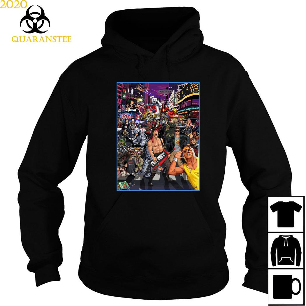 Tribute To 80s Pop Culture Shirt Hoodie