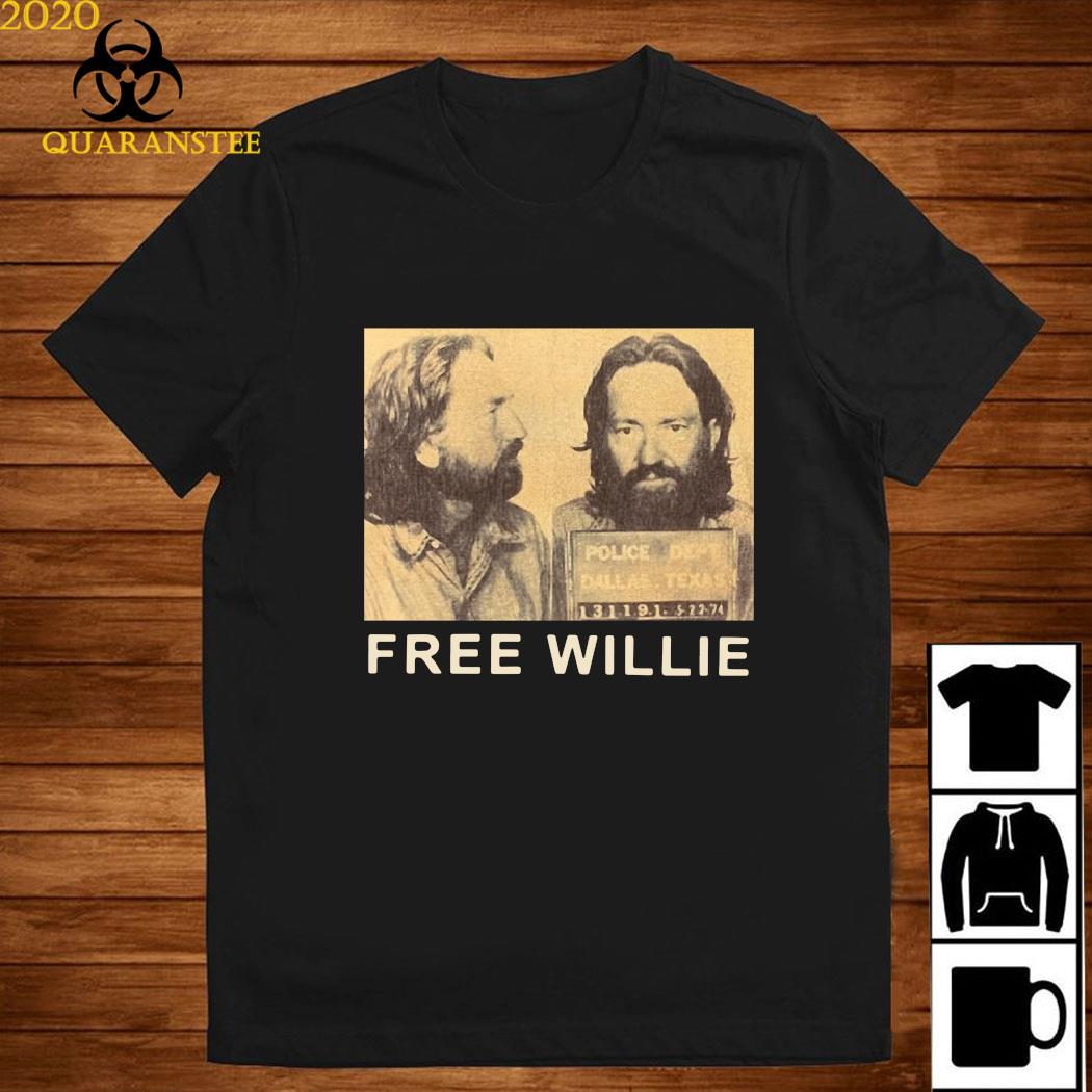 Willie Nelson Free Willie Shirt