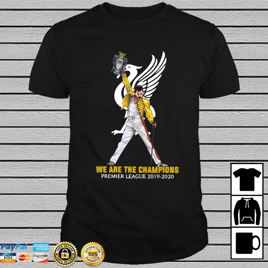 Freddie Mercury We Are The Champions Premier League 2019 2020 Shirt