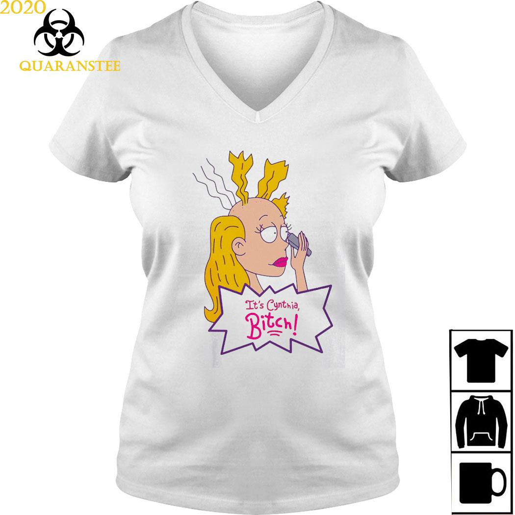 It's Cynthia Bitch Shirt Ladies V-neck