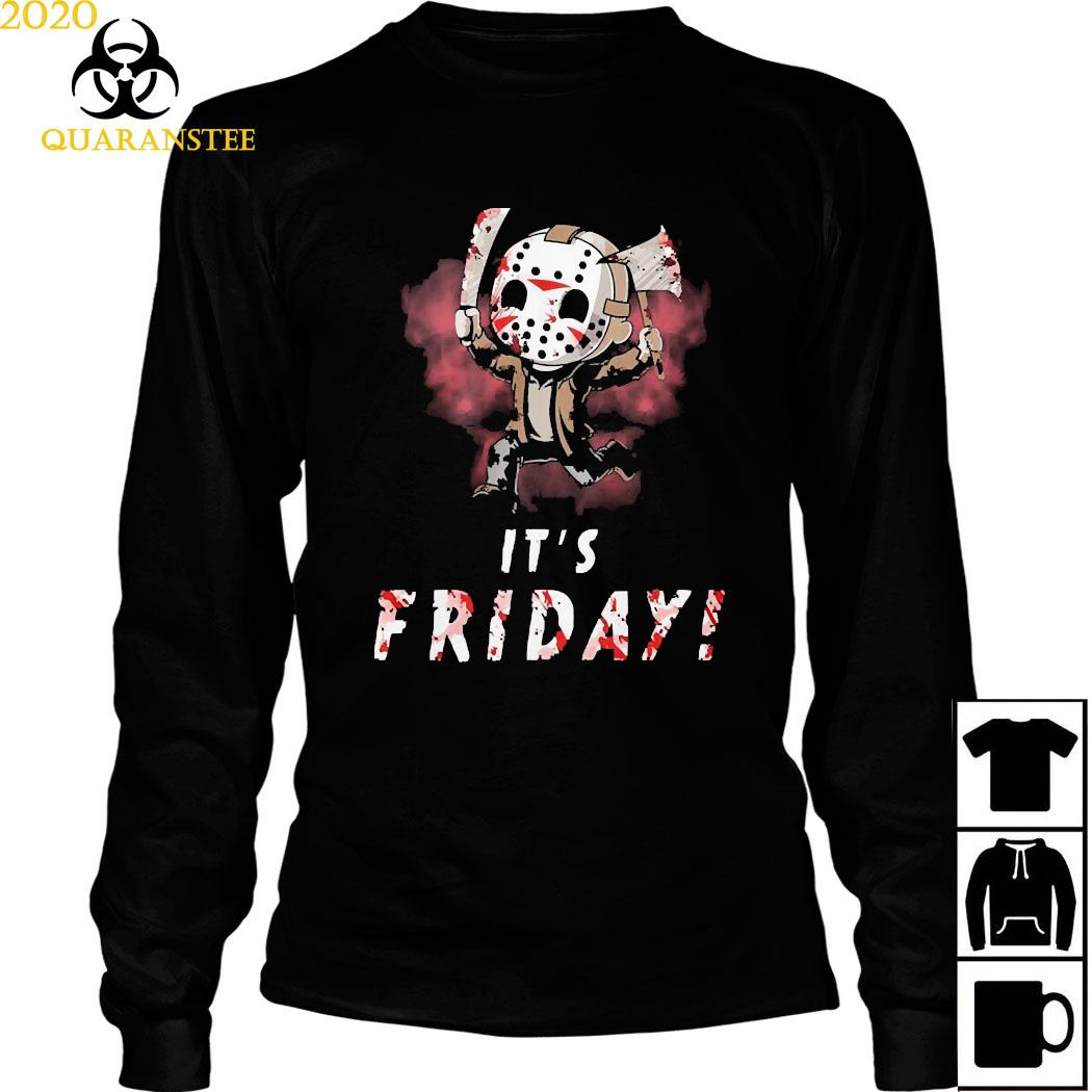 Michael Myers It's Friday Shirt Long Sleeved