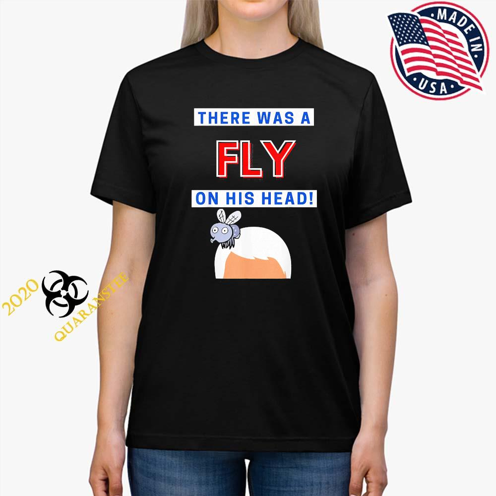 Mike Pence Fly On His Head VP Debate Fly Pence's Head 2020 Shirt Ladies Tee
