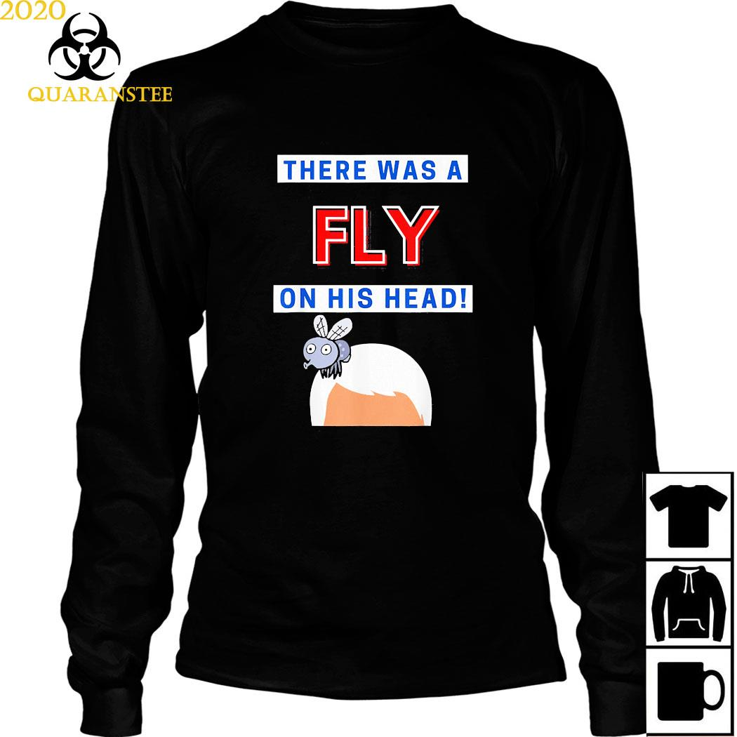 Mike Pence Fly On His Head VP Debate Fly Pence's Head 2020 Shirt Long Sleeved