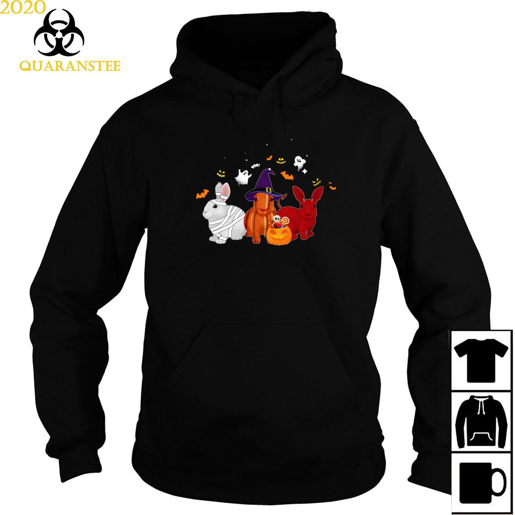 Rabbit Pumpkin Halloween Shirt Hoodie