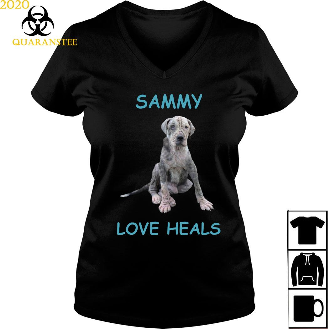 Sammy Love Heals Shirt Ladies V-neck
