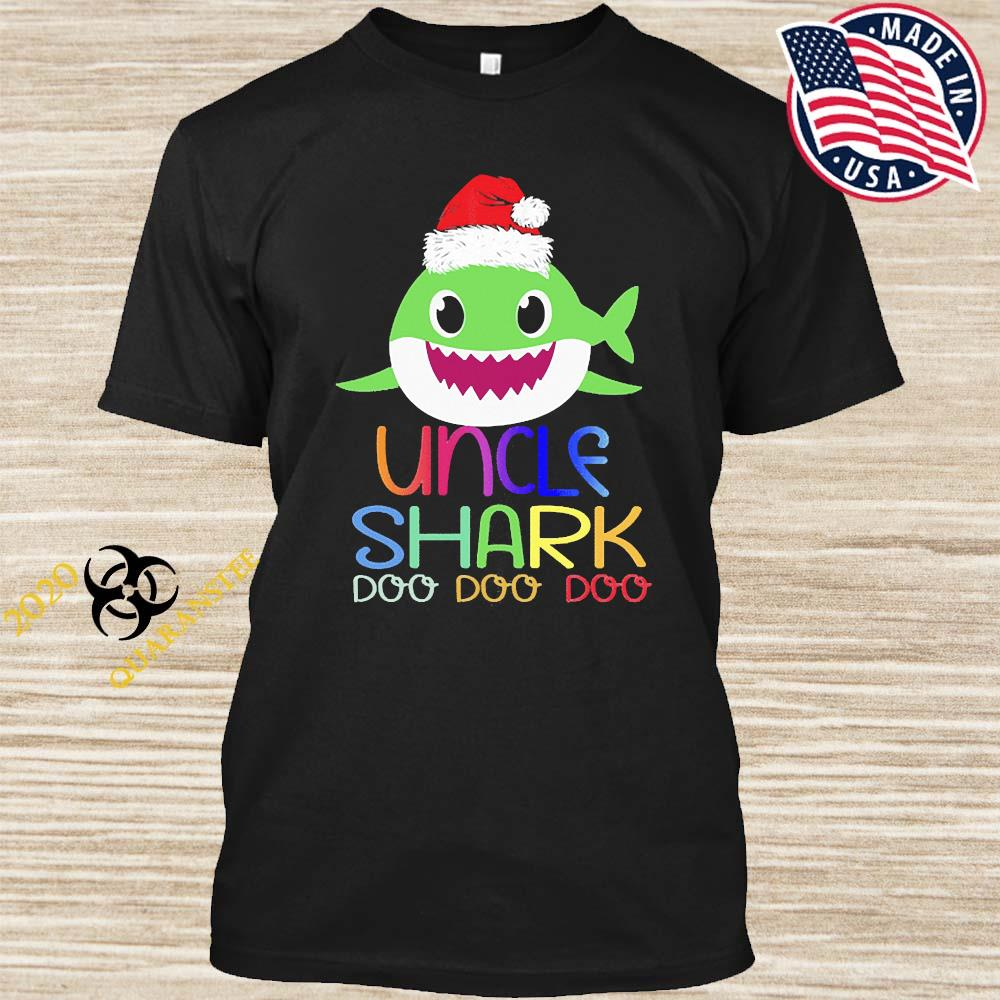UncleShark MatchingFamilyGroup Christmas Outfit Shirt