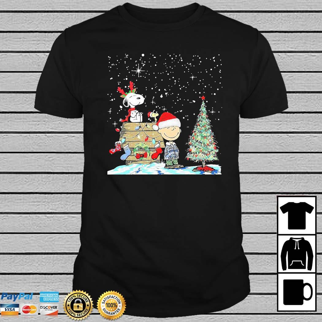 Snoopy Woodstock And Charlie Brown Christmas Sweater Hoodie Sweater Long Sleeve And Tank Top