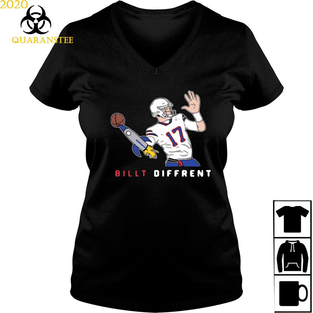 Billt Different #17 Shirt Ladies V-neck