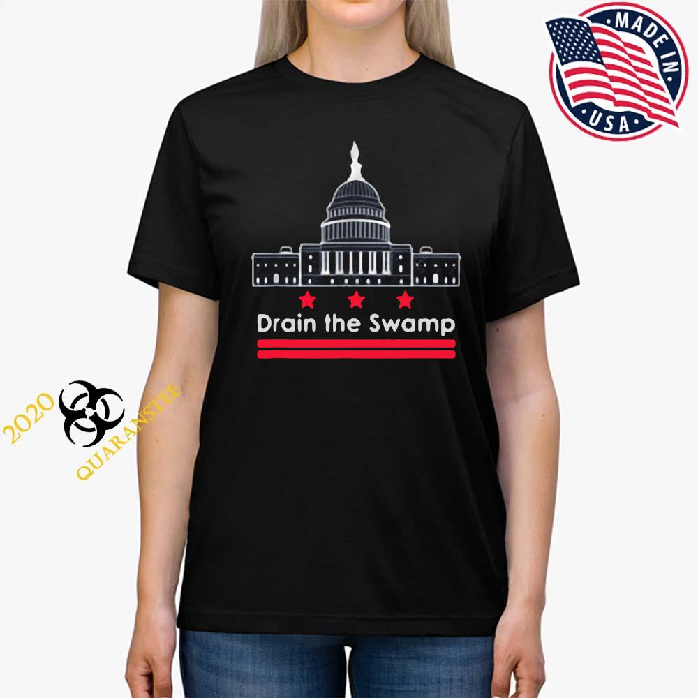 Drain The Swamp In Washington D.C. Shirt Ladies Tee