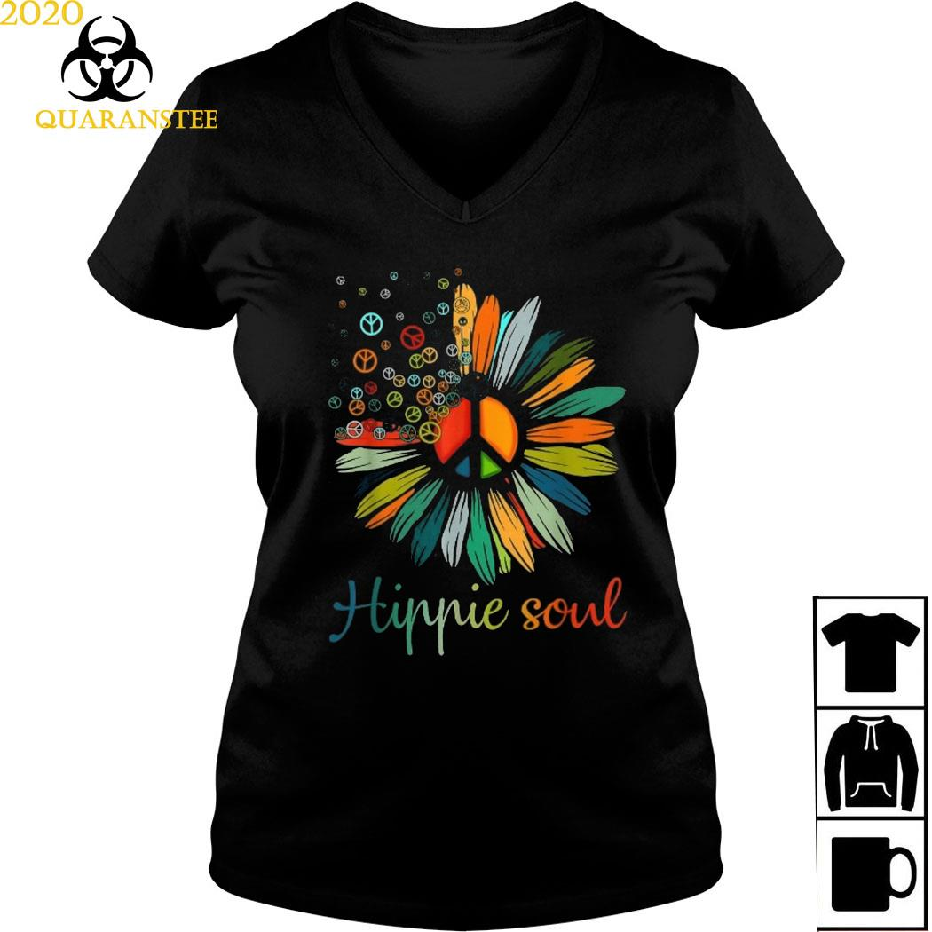 Hippie Soul Shirt Ladies V-neck