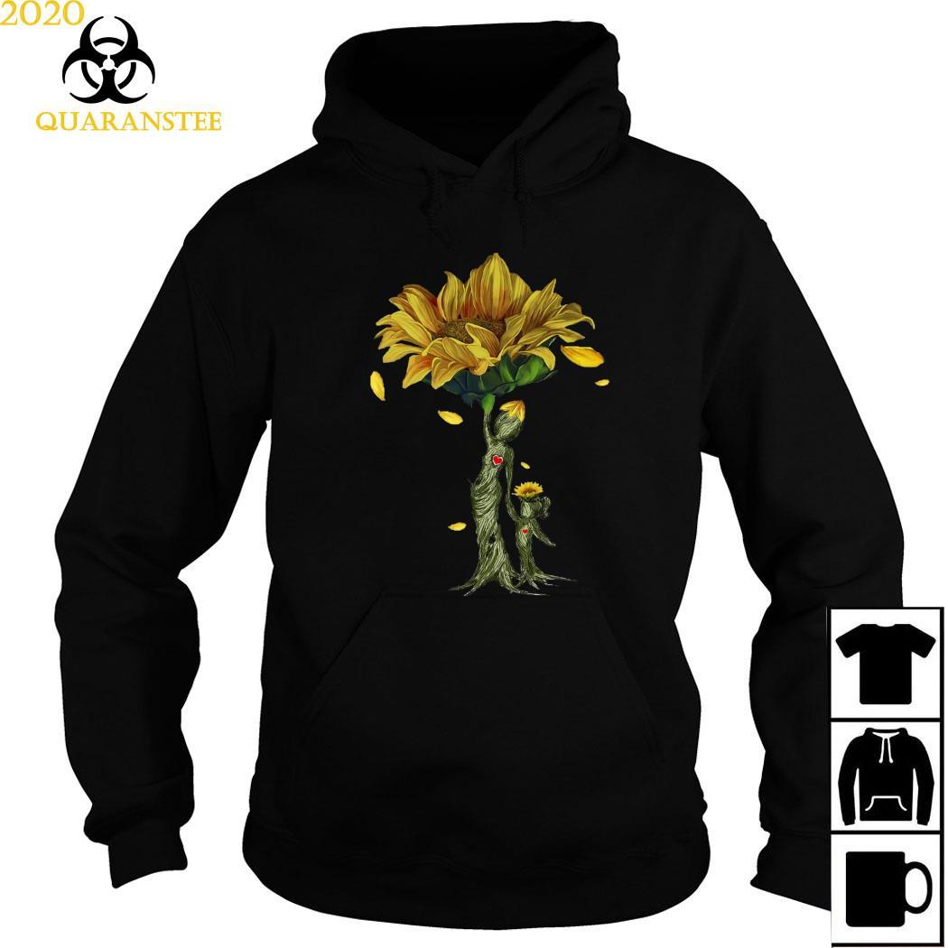 Mother Daughter Sunflower Shirt Hoodie