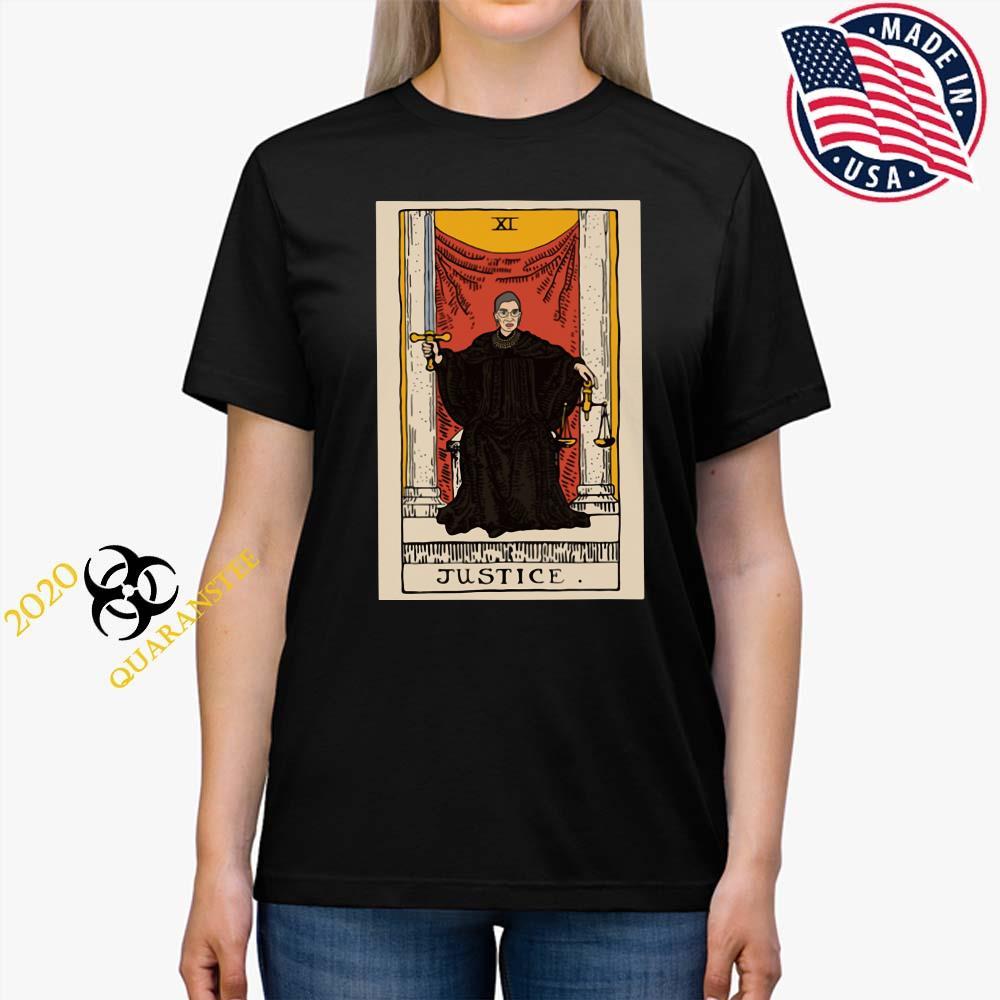 Ruth Bader Ginsburg Justice XI Shirt Ladies Tee
