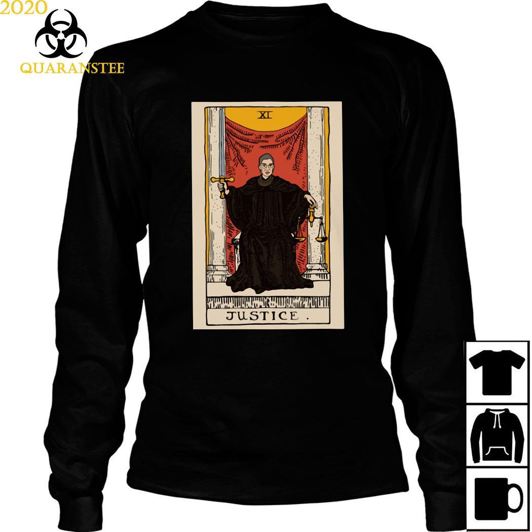 Ruth Bader Ginsburg Justice XI Shirt Long Sleeved